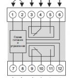 подключение двухканального терморегулятора