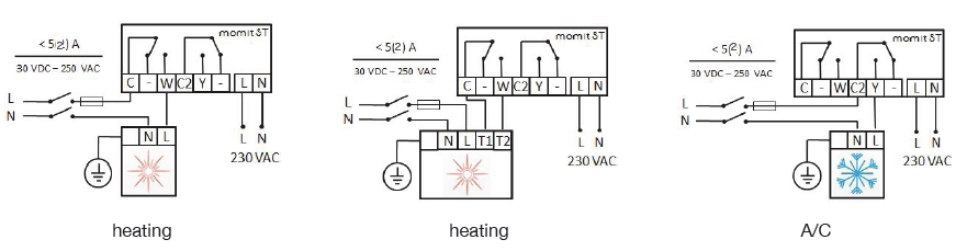 wifi терморегулятор схема