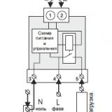 терморегулятор din схема