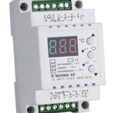 Двухканальный терморегулятор Terneo k2 (2x16A) din